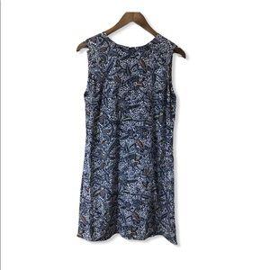 Tory Burch floral sleeveless silk dress size 6